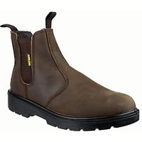 Amblers Safety FS128 Dealer Safety Boot - Brown Size 14