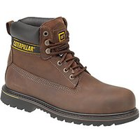 Caterpillar CAT Holton SB Safety Boot - Brown Size 11