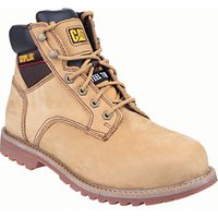 Caterpillar Cat Electric 6in Safety Boot - Honey Size 10