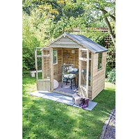 Forest Garden Oakley Double Door Summerhouse - 7 x 5 ft