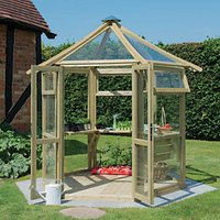 Forest Garden Glass House Pressure Treated