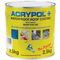 Click to view product details and reviews for Acrypol Waterproofing Grey 25kg.