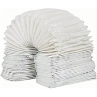 Manrose PVC White Rectangular Flexible Ducting - 110 x 54mm x 3m