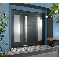 JCI Ultimate Door Frame with Double Side Light Grey 457mm