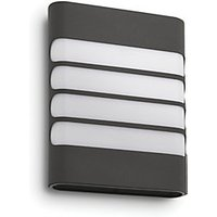 Philips Raccoon Anthracite LED Wall Light   4W