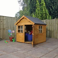 Mercia 4 x 4 ft Wooden Snug Playhouse with Assembly