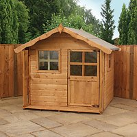 Mercia Timber Poppy Playhouse - 5 x 5 ft - with Assembly