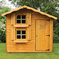 Mercia 7 x 5 ft Wooden Double Storey Playhouse