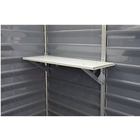 Palram Skylight Plastic Storage Shelf White