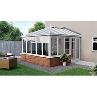 Click to view product details and reviews for Euramax Edwardian Glass Roof Dwarf Wall Conservatory 10 X 12 Ft.