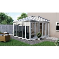 Euramax Edwardian Glass Roof Full Glass Conservatory - 8 x 12 ft