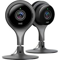 Click to view product details and reviews for Nest Cam Smart Indoor Security Camera Pack Of 2.