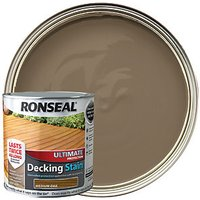 Ronseal Ultimate Protection Decking Stain - Medium Oak 2.5L