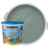 Ronseal Fence Life Plus Matt Shed and Fence Treatment - Sage 5L