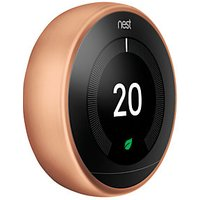 Google Nest Learning Smart 3rd Generation Copper Thermostat