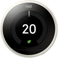 Google Nest Learning Smart 3rd Generation White Thermostat