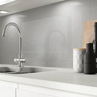 Click to view product details and reviews for Alusplash Splashback Space Silver 3m X 545mm.