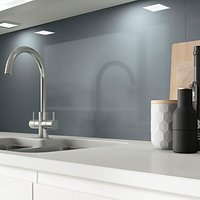 Click to view product details and reviews for Alusplash Splashback Petrol Blue 800 X 600mm.