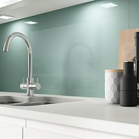 Click to view product details and reviews for Alusplash Splashback Blue Bird 3m X 545mm.