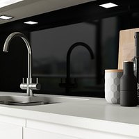 Click to view product details and reviews for Alusplash Splashback Ebony 900 X 800mm.