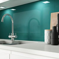 Click to view product details and reviews for Alusplash Splashback Totally Teal 800 X 600mm.