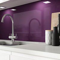 Click to view product details and reviews for Alusplash Splashback Aubergine 900 X 800mm.
