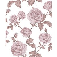 Graham & Brown Boutique Countess Pink Decorative Wallpaper - 10m