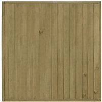 Forest Garden Tongue & Groove Vertical Fence Panel - 6 x 6ft Pack of 3
