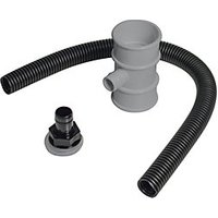Click to view product details and reviews for Floplast Rvm1g Miniflo Downpipe Rainwater Diverter Grey 50mm.