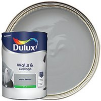 Dulux Silk Emulsion Paint - Warm Pewter 5L