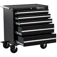 Hilka Professional Tool Chest and Cabinet with 489 Piece Mechanics Tool Kit - Black