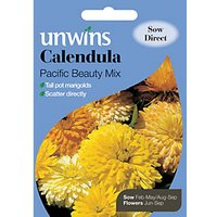 'Unwins Pacific Beauty Calendula Mixed Seeds