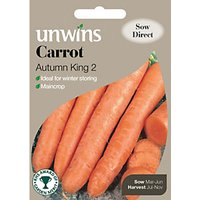 Unwins Autumn King 2 Carrot Seeds