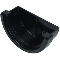 Click to view product details and reviews for Floplast Rem1b Miniflo Gutter External Stopend Black.
