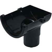 Click to view product details and reviews for Floplast Rom2b Miniflo Gutter Stopend Outlet Black.