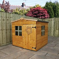 Mercia 4 x 4 ft Junior Playhouse with Assembly