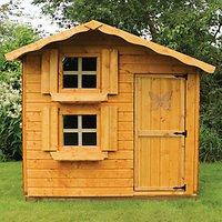 Mercia Double Storey Playhouse - 7 x 5 ft with Assembly