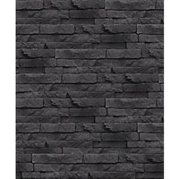 Graham & Brown Superfresco Easy Odysee Black Decorative Wallpaper - 10m
