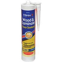 Click to view product details and reviews for Vitrex Flexible Flooring Sealant Light Oak 310ml.