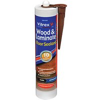 Click to view product details and reviews for Vitrex Flexible Flooring Sealant Dark Oak 310ml.