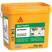 Sika Fast Fix All Weather Jointing Paving Compound - Grey 14kg