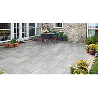 Marshalls Symphony Tumbled Paving - Smoke 400 x 800 x 20mm