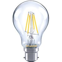 Sylvania LED GLS Dimmable Filament B22 Light Bulb   7W