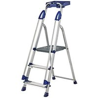 Click to view product details and reviews for Werner Work Station 3 Tread Aluminium Stepladder.