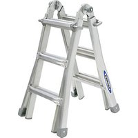 Click to view product details and reviews for Werner 4x3 Telescopic Aluminium Combination Ladder Max Height 288m.