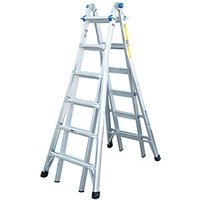 Click to view product details and reviews for Werner 4x6 Telescopic Aluminium Combination Ladder Max Height 7m.