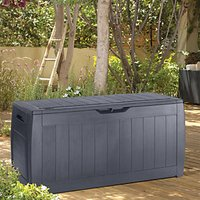 'Keter Hollywood Patio Storage Box Anthracite