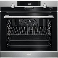AEG Pyrolytic Single Oven with Plus Steam BPK552220M