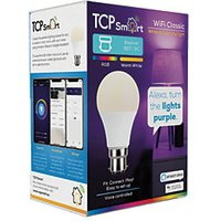 TCP Smart LED Colour Changing B22 Light Bulb   9W