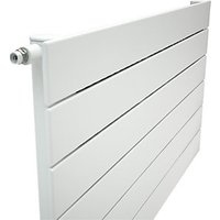 Henrad Verona Single Panel Designer Radiator   White 588 x 700 mm